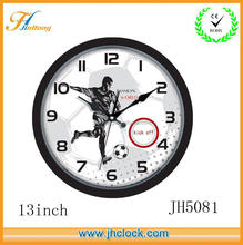 multi clock face customized wall clocks for elderly