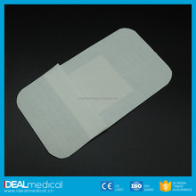Waterproof air permeable alginate dressing surgical products