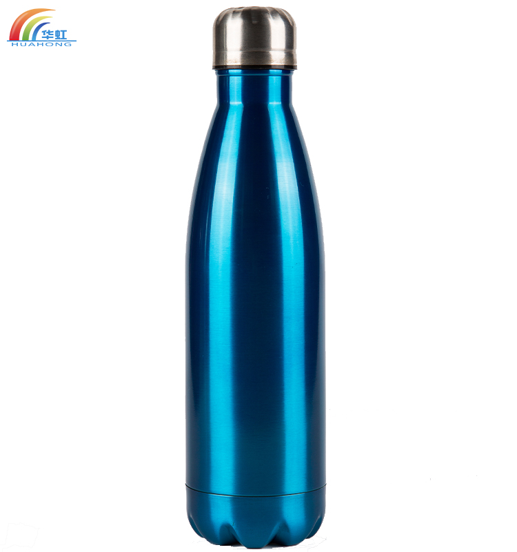 Customized vacuum stainless steel bullet shaped thermos bottle