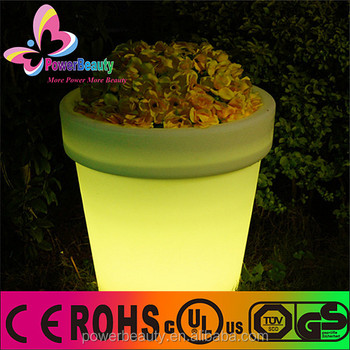 Removable rechargeable new arrival Decro flower pot