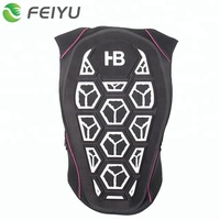 Back Protector Shock Absorbing Padding For Ski Snowboard MTB