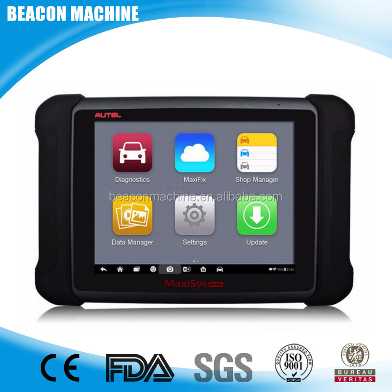 AUTEL MaxiSYS MS906 Android 4.0 BT/WIFI Auto Diagnostic Scanner Next Generation of Autel MaxiDAS DS708 Online Update Autel MS906