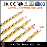 heat lamp for bathroom greenhouse heating element 2KW