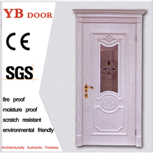 direct factory price pine single stainless flush door strong room door YBVD-6162
