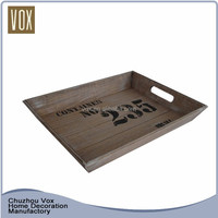 eco-friendly nice cheap wooden serving tray
