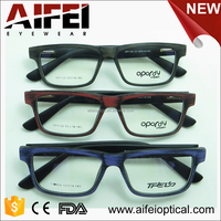 Brushed wooden fake acetate china wholesale optical eyeglasses frame