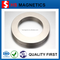 Strong Permanent Axially Magnetized Neodymium Big Ring Magnets