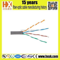 high quality factory price for utp cat5e cable 4 pair for network cabling