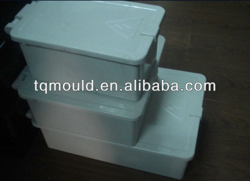 square plastic water tank compression mold