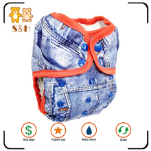 Hot sale eco friendly OEM soft breathable reusable baby cloth diaper