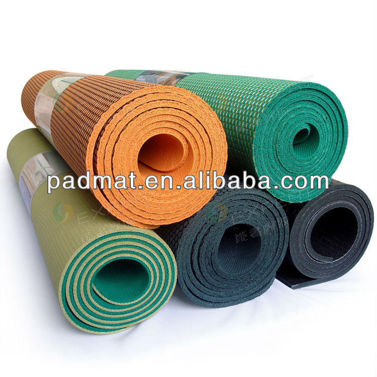yoga mat packaging distributor |chakra yoga mat distributor