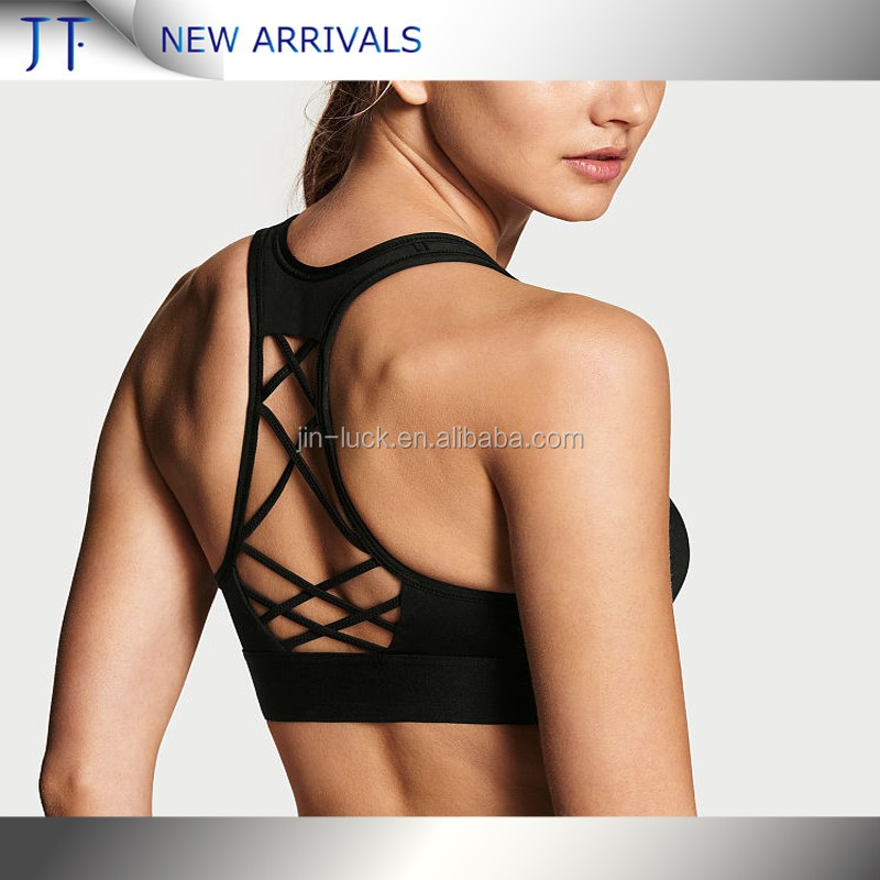 2017 New Design Dri Fit Private Label Custom Sports Bra Workout Gym Wear Fitness Yoga Wear