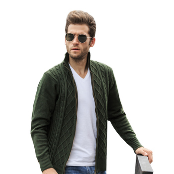 Long Sleeves Mens Cheap Sweaters Cardigancable Knit Winter