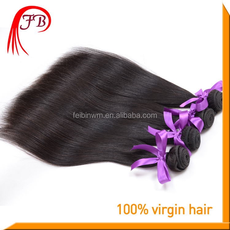Top Sale Virgin Hair , New Year Grift For Wife Natural Straight Hair Aliexpress Wholesale Online Feibin Brand