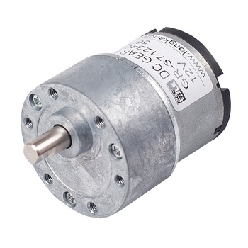 Small DC Motor with Gearbox