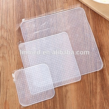 Hot sell Food Wrapping Film Silicone Cover For Food Wrap keep fresh