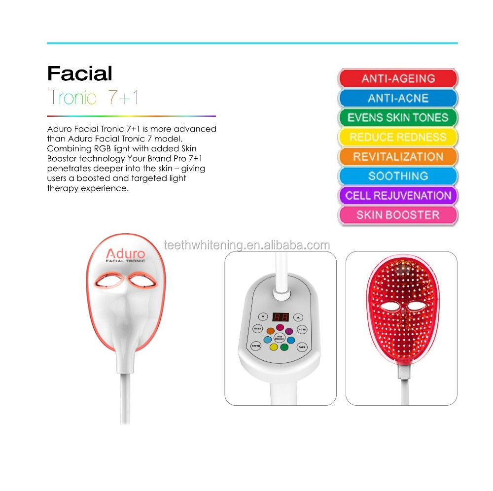 PDT professional led skin care mask light therapy beauty salon equipment