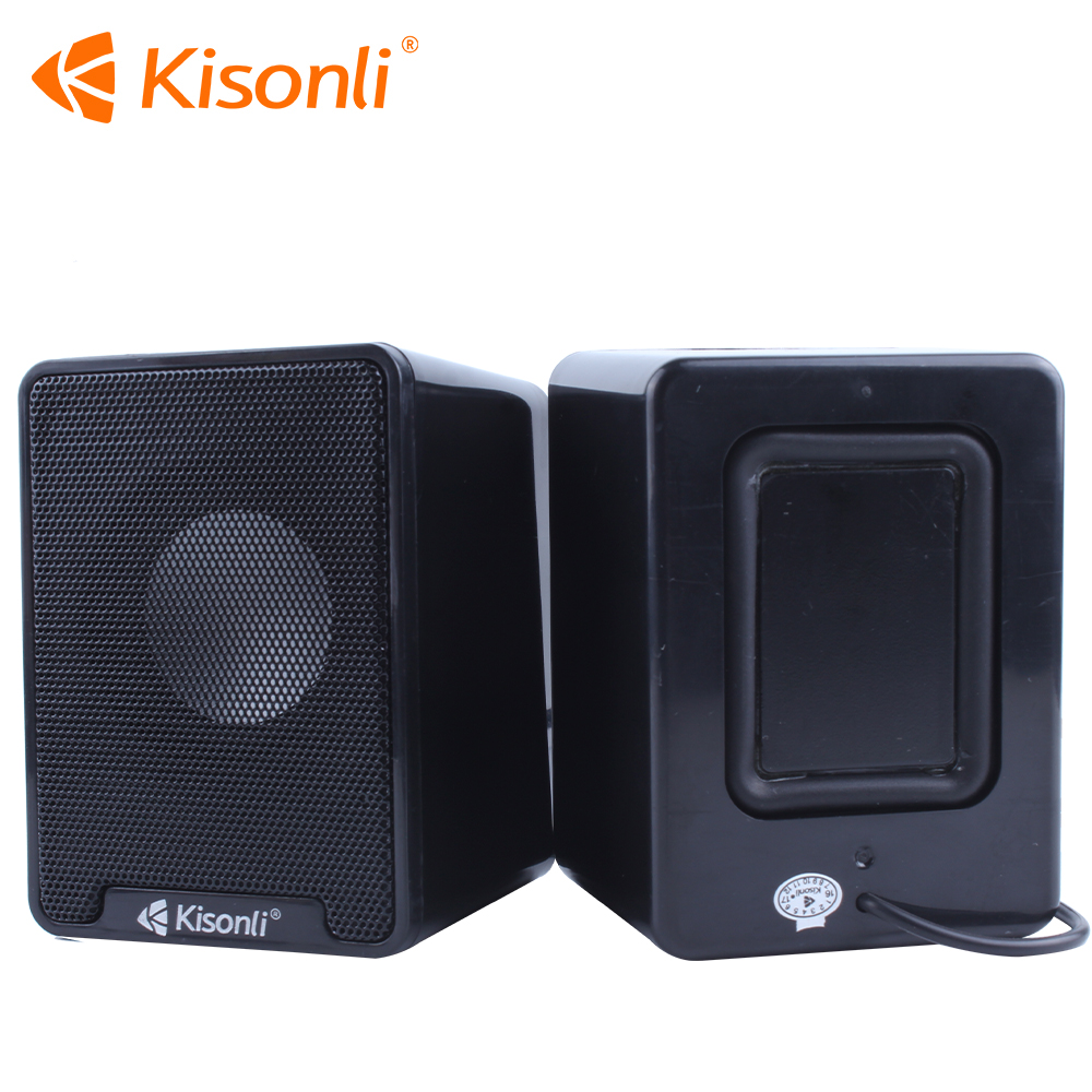 Hifi 2.0 USB Speaker With Volume Control On The Cable In Lowest Price