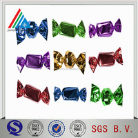 PET PVC Twist Film Confectionary Candy Wrapper Material
