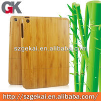 Customized Detachable Bamboo Case For ipad3 for ipad4 for ipad5