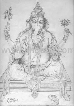 Lord Ganesha: The Siddhi Vinayak Artwork