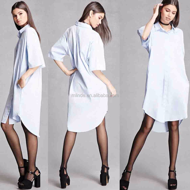 Cheap Wholesale Shirt Dresses Momokrom Dolman Pakistani Long Unique Shirt Dress