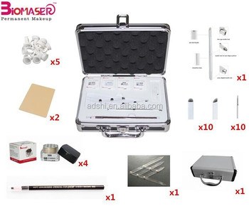 Permanent Makeup Manual eyebrow tattoo machine pen Microblading Tool set