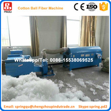 Automatic Pearl cotton polyester ball fiber making machine with opening machine for pillow filling