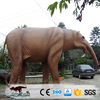 OA8242 2017 remote control real size elephent animal statue for sale