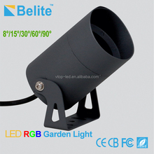 outdoor waterproof DMX RGB 12W led flood light