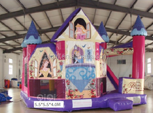 Happy Hop Inflatable Castle bounce house for cartoon Snow