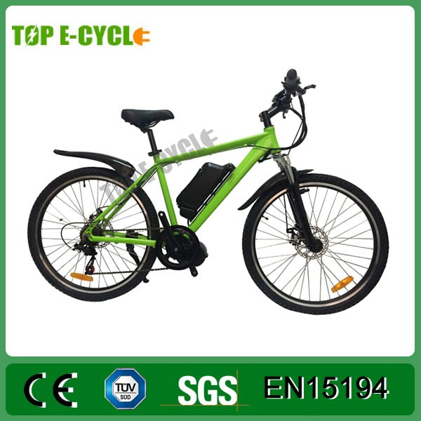 TOP 2017 500W 48V cheap mountain electric bike with panasonic battery