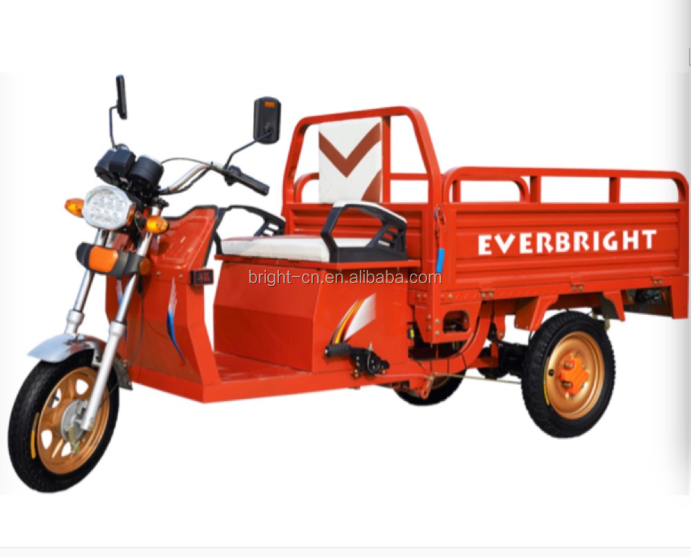 hot sale adult worksman electric industrial trike tricycle
