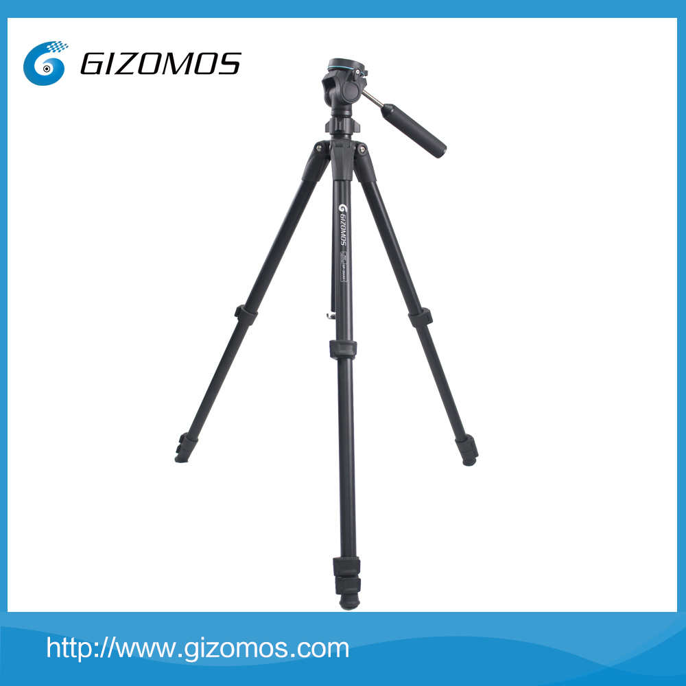 Gizomos Professional Mini Digital SLR Camera Tripod Stand Video Camcorder Gear Balance Stand for Press Conference