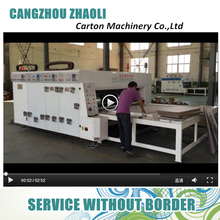 Latest product semi auto carton printing slotting flexo printing machine price