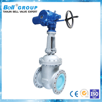 Simple operation electric flanged gate valve dimensions