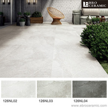 Ebro big size rustic porcelain tile floor and wall 600x1200mm