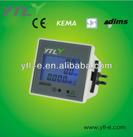 Single phase panel multifunction power meter