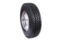 Truck and bus all steel tubeless radial tyre for drive position