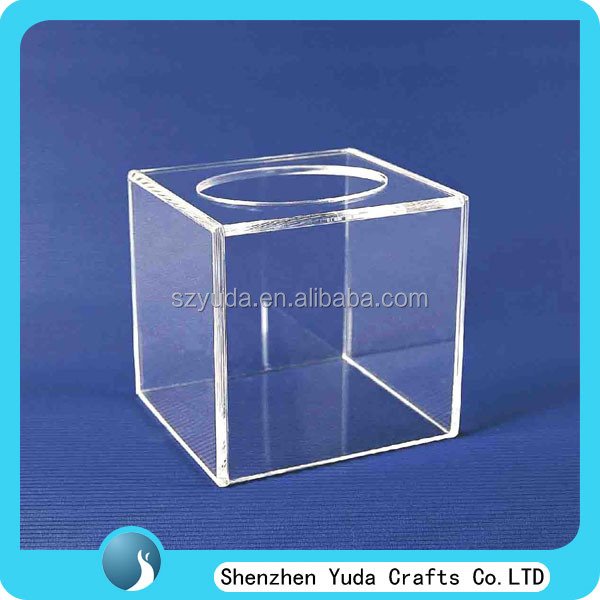Clear Acrylic Lucky Draw Box, Plexiglass Collection Box, Acrylic Raffle Box