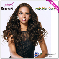 Wholesale Lace Front Wig Kinky Curly Tangle free Synthetic Hair Padding