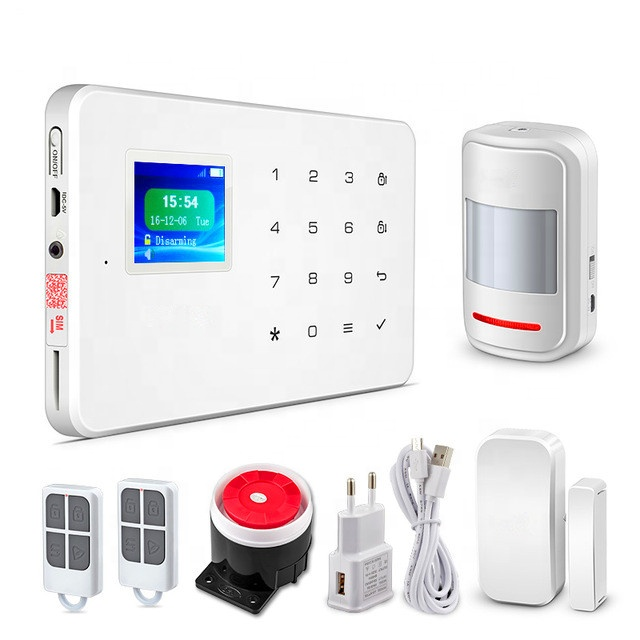 IOS Android APP Control Wireless Home Security GSM Alarm System