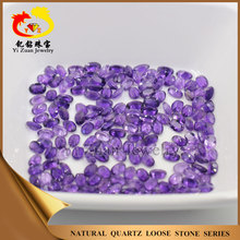 natural oval type loose amethyst stone