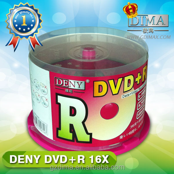 Chinese goods wholesale recordable dvd blank media