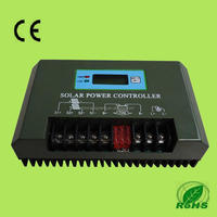 60a PWM Solar Charge Controller 3000W Solar Panel Regulator Cntroller 48v with timer