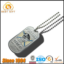 New fashion etching painting stainless steel dog tags