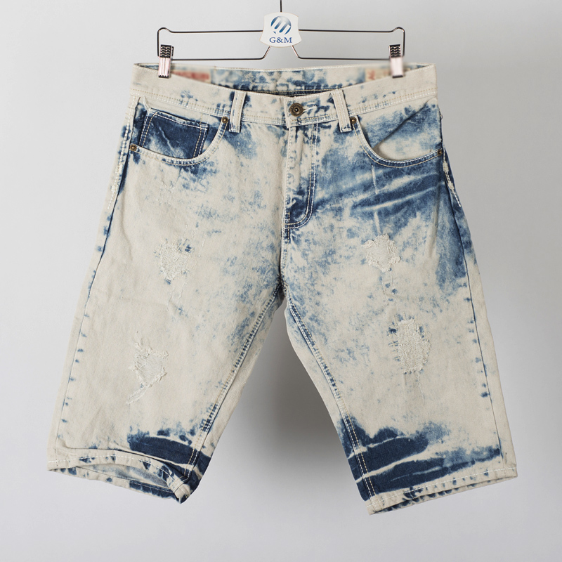 kids jeans dress Fashion heavy washed and ripped children's jeans