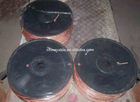Fast Sale PVC Cover copper or aluminum conductor transparent flexible wire