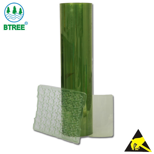 Btree Antistatic PET Sheet For Thermoforming To Making ESD PET Tray