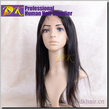 DK best seller virgin brazilian hair integration wigs, natural hand made no shedding factory price